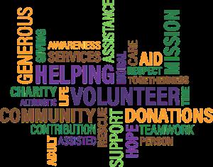 volunteer, charity, cloud